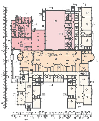 мы предложили схему здания