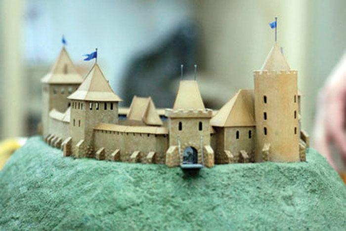Модель замков своими руками 445