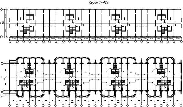 Серия 1-464 проводка схемы.
