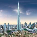 3. Самое высокое здание планеты – небоскреб «Бурдж Халифа» высотой 828 м, открыт в 2010 г.
