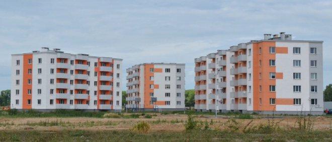 Комплекс жилых домов в районе Казимировка в Могилеве