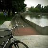 Вдоль реки Свислочь построят велодорожку