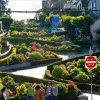 Самая кривая улица в мире - Ломбард-стрит