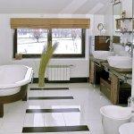 Дом в белом