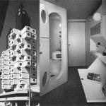 Жилой многоквартирный дом в Токио, арх. К. Куракава, 1972 г.