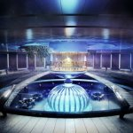 Футуристический подводный отель в Дубае
