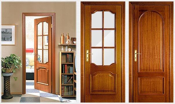 Межкомнатные двери из массива от производителя купить в
