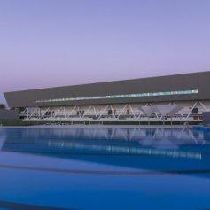 """Национальный стадион """"Центр водных видов спорта"""" в Чили"""