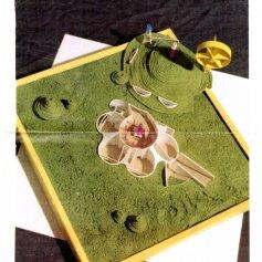 Многояйцевая феерия. Дом-холм, дом-клумба. Архит. : В. Рондель, Д. Сидельников, 2004 г.
