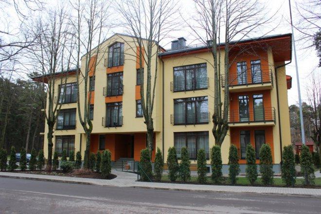 Жилой дом в системе несъемной опалубки. Латвия