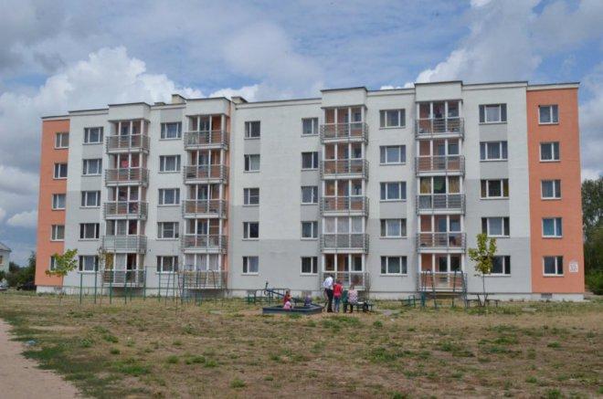 Жилой дом на ул. Алтайской в Могилеве