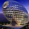 Яйцеобразное здание от Cybertecture (Cybertecture Egg), Бомбей, Индия.