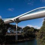 Мост «Point Resolution» от Warren & Mahoney. Окленд, Новая Зеландия