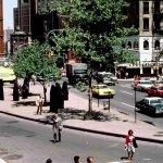 Площадь Богардус (Bogardus Plaza) в 1970 году