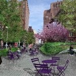 Проект по преобразованию пешеходной улицы и площади в Манхэттене, Нью-Йорк