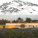 Градостроительное размещение детского сада  Детский сад в Амштеттен-Эгерсдорф