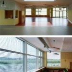 Интерьеры многофункционального и группового пространств Детский сад в Амштеттен