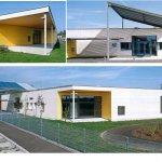 Совмещение конструктивных и технических элементов здания    Детский сад в Амштет
