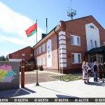 """Обновленный погранпост """"Урбаны"""" открыт на границе Союзного государства и ЕС"""