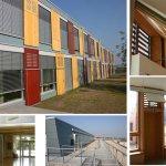 Детский сад во Франкфурте-Ридберге Конструктивно-технические элементы здания