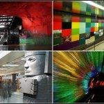Самые красивые станции метрополитенов мира