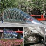 станции метрополитена в Бильбао