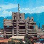 Центр коммуникаций в г. Кофу, арх. К. Танге, 1962-1967 гг.
