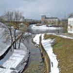 За последние несколько лет значительно преобразилась река Витьба