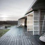 Современная интерпретация деревянного сруба от украинских архитекторов