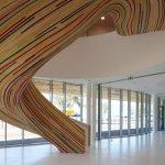 Лестница-скульптура от французских архитекторов
