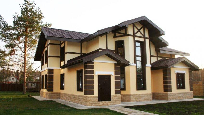 Популярные варианты отделки фасадов домов | Обзор видов облицовки